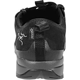 Arc'teryx Acrux SL Leather GTX Approach Shoes Herren black/shark
